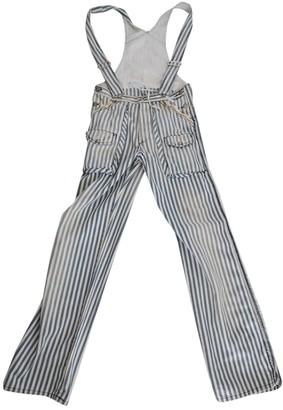 Cycle Navy Denim - Jeans Jumpsuit for Women