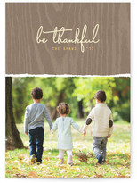 Minted Be Thankful Thanksgiving Cards