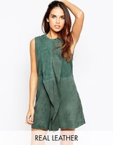 French Connection Fast Sandie Suede Dress