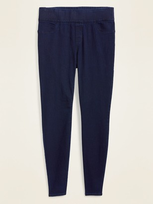Old Navy Mid-Rise Super Skinny Plus-Size Jeggings