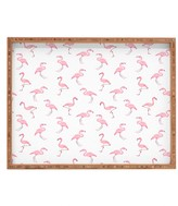 DENY Designs Wonder Forest Fantastic Flamingos Tray