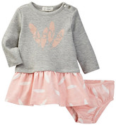 Jessica Simpson Love Feather Dress and Bloomers Set (Baby Girls)