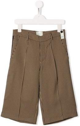 Fendi striped shorts