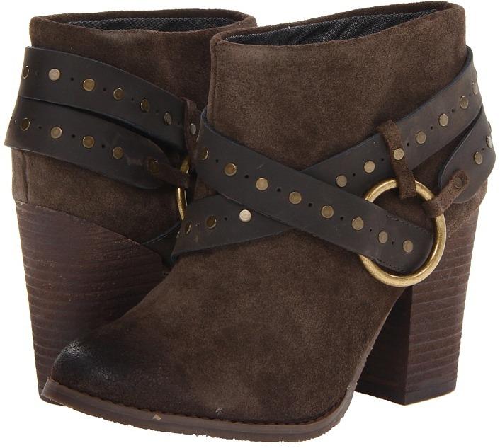 Calvin Klein Jeans Daisy (Oak/Grey Waxed Suede/ Leather) - Footwear