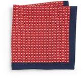 HUGO BOSS Contrast Dot Print Pocket Square