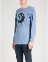 Stussy 8 ball cotton-jersey top