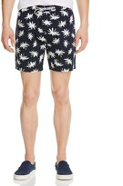 Barney Cools Sunday Palm Print Slim Fit Shorts