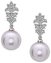 Nina Pearl Drop Earrings