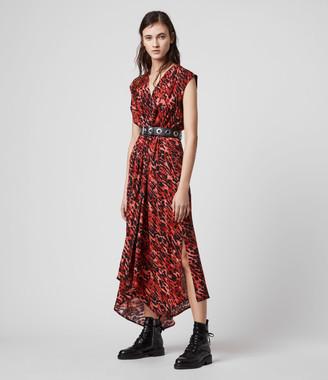 AllSaints Tate Ambient Dress