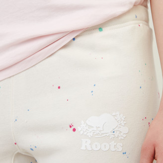 Roots Splatter Cropped Sweatpant