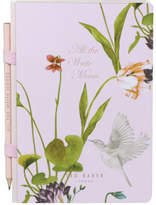 Ted Baker Oriental Bloom A5 Notebook & Pencil