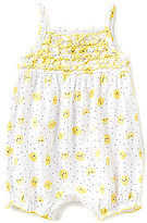 Starting Out Baby Girls Newborn-9 Months Lemon Ruffled Romper