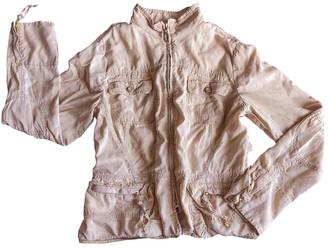 Trussardi Jeans Beige Cotton Jacket for Women