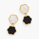 Talbots Mother Of Pearl Drop Earring