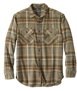 Pendleton Mens Burnside Flannel Shirt