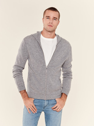 ATM Anthony Thomas Melillo Cashmere Blend Zip Hoodie