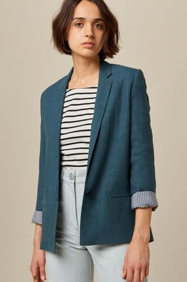 Sessun Bliss Indian Teal Jacket - XS