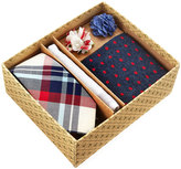 Original Penguin Five-Piece Sock and Tie Box Set, Multi/Navy Plaid