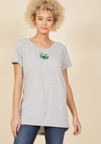 ModCloth Simplicity on a Saturday Tunic in Grey in S