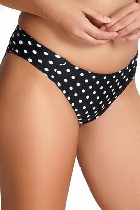 Panache Women's Anya Spot Gather Bikini Bottom