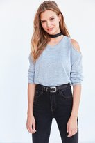 Silence & Noise Silence + Noise Kaitlyn Cold Shoulder Sweater