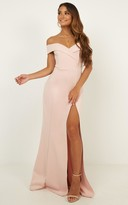 Showpo One For The Money dress in blush - 16 (XXL) Engagement Dresses