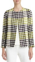 Lafayette 148 New York Women's 'Dani' Windsor Plaid Jacket