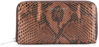 Orciani Snake-Effect Wallet