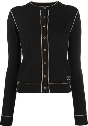 Elisabetta Franchi Button-Up Knitted Cardigan
