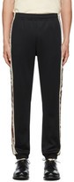 Gucci Black Cotton Lounge Pants