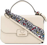 Love Moschino large top handle tote bag