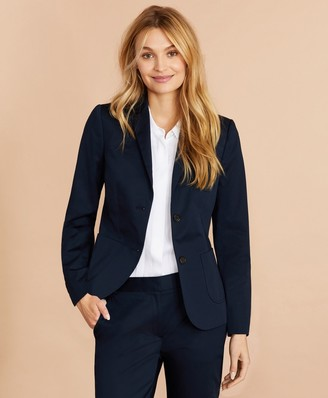 Brooks Brothers Stretch Cotton Sateen Jacket