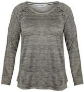 Dex/Black Tape Lacing Detail Sweatshirt