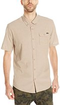 O'Neill Men's Emporium Solid Short Sleeve Shirt