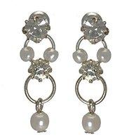 AJ Fashion Jewellery Nastasia Small faux Pearl Post Earrings