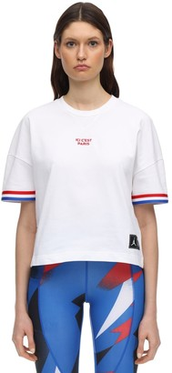 Nike Jordan Psg Cotton Jersey T-Shirt