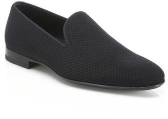 Saks Fifth Avenue COLLECTION BY MAGNANNI Smoking Slippers