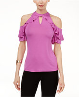 Thalia Sodi Ruffled Off-The-Shoulder Top, Only at Macy's