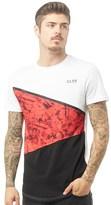 Closure London Mens Cut & Sew T-Shirt White
