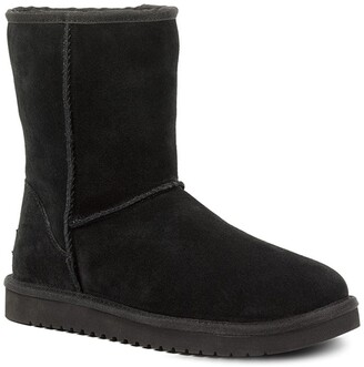 Koolaburra By Ugg Classic Short Genuine Shearling & Faux Fur Lined Boot - Wide Width Available