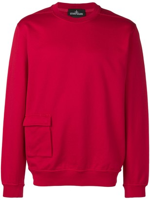 Stone Island Shadow Project Cargo-Pocket Sweatshirt