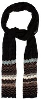 Missoni Abstract Open Knit Scarf