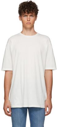 Haider Ackermann White Dye T-Shirt