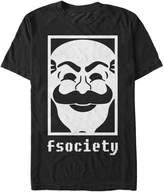 Fifth Sun Mr Robot fsociety Mens Graphic T Shirt