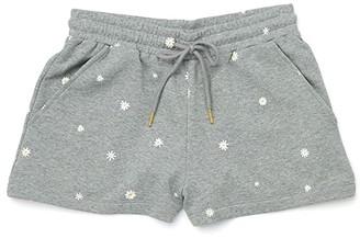 ban.do Daisies Summer Camp Shorts (Grey) Women's Shorts