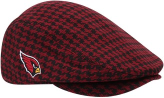 New Era Men's Bruce Arians Cardinal Arizona Cardinals Houndstooth Driver Fitted Hat