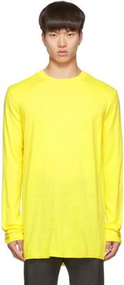 Comme des Garcons Yellow Wool Gauge 14 Sweater