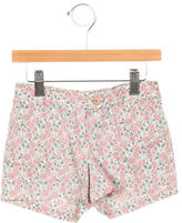 Bonpoint Girls' Tailored Floral Print Shorts