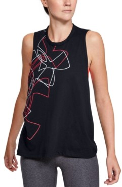 Under Armour Graphic Crossover-Back Tank Top