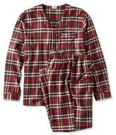 L.L. Bean Bean's Cotton/Wool Pajamas, Plaid